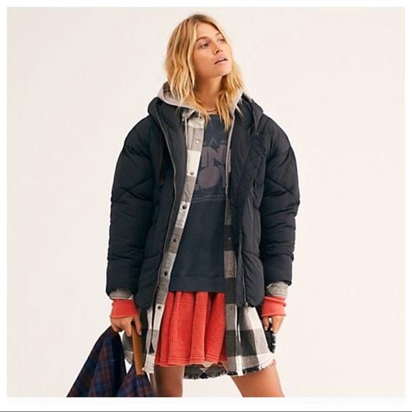 Free People Jackets & Blazers - NWT | Free People Hailey Puffer Coat